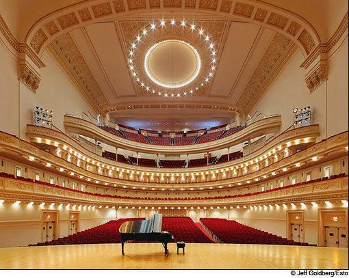 Carnegie Hall, Manhattan, New York, United States I should have gone last time I was in NY. Next time I won't miss it!