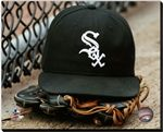 Chicago White Sox Stretched Canvas AAOX099 Chicago White Sox Hat & Glove. 16x20, 20x24, 24x30 Canvas Sizes Available. Officially Licensed MLB Baseball Canvas. Canvases are stretched around a wood frame. Wire for hanging not included. Please allow 3-5 business days as canvases are made to order.
