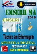 Apostila Digital Concurso EMSRH MA Tecnico de Enfermagem 2016