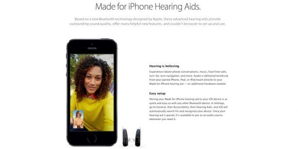 Apple chiede una nuova certificazione alla FCC per gli apparecchi acustici MFi