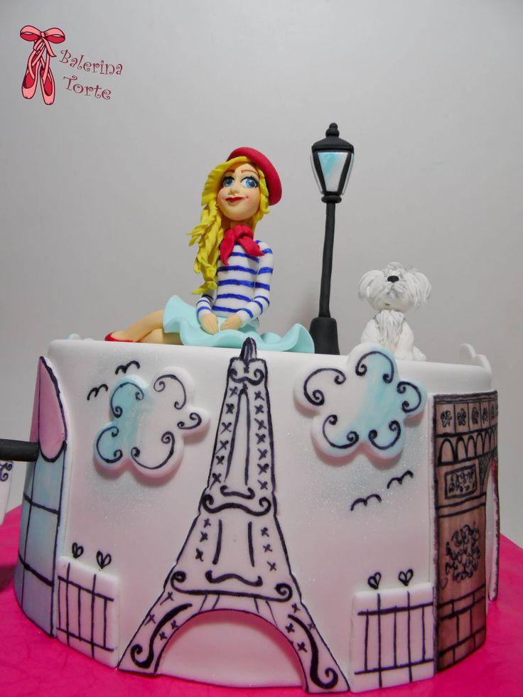 Birthday Cakes For Girls Za ~ Https flic kr p dguwbx paris girl cake pariz torta za devojcice by cakes� desserts