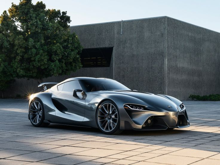 2014 Toyota FT1 Graphite Concept Supercar