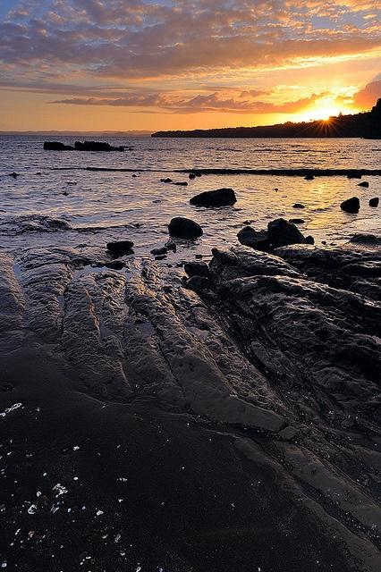 Sunset, Green Bay