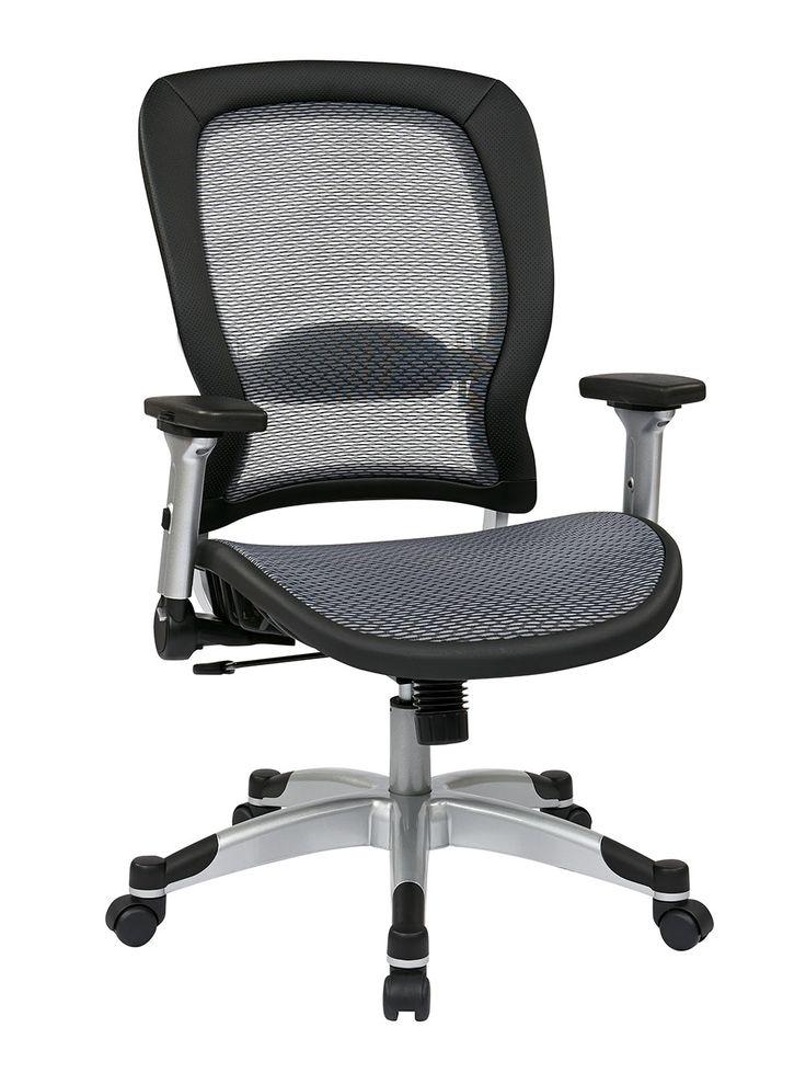 327 Series Professional Light Air Grid® Chair. Adjustable Lumbar Support,  Height U0026 Tilt