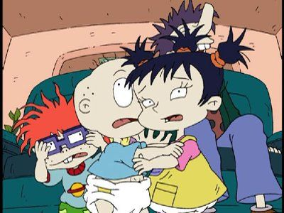 Rugrats Tommy and Chuckie and Kimi Pill and Lill Crying ... |Rugrats Chuckie And Kimi