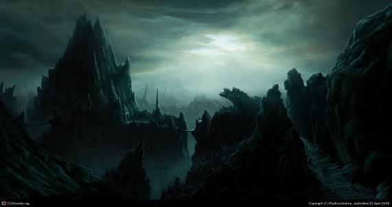 Darkness - Radha Krishna