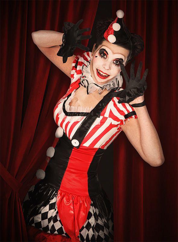 Faschings schminktipp so gelingt euer harlekina clown for Clown schminktipps