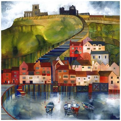 Whitby - 199 Steps By Kate Lycett