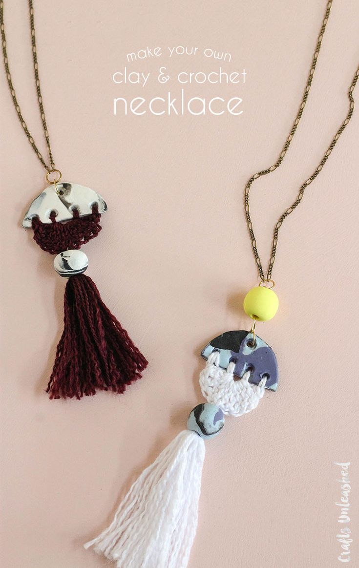 how to make a beaded necklace with thread