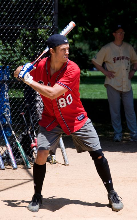 Aaron Tveit Is Really Good at Baseball by Lauren Yapalater