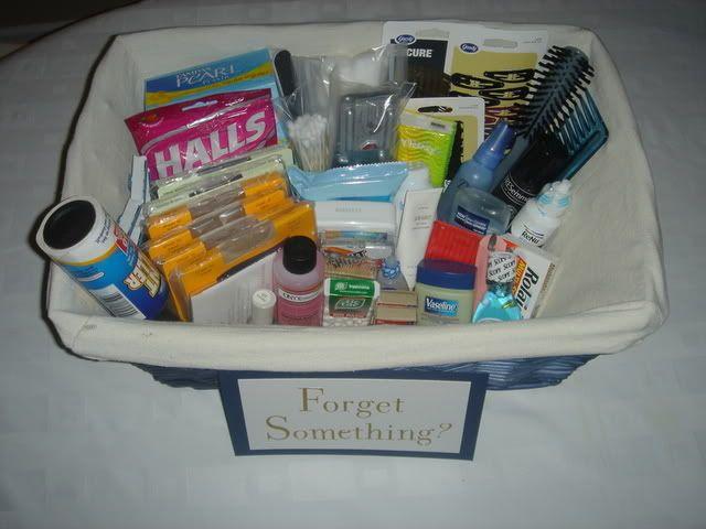 Bathroom Baskets 268 best wedding guest bathroom basket images on pinterest
