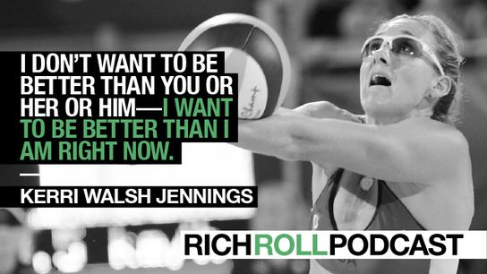 Kerri Walsh Jennings: Lessons on Mindset From One of the Most Dominant Olympic Athletes Of All Time | Rich Roll http://sco.lt/...