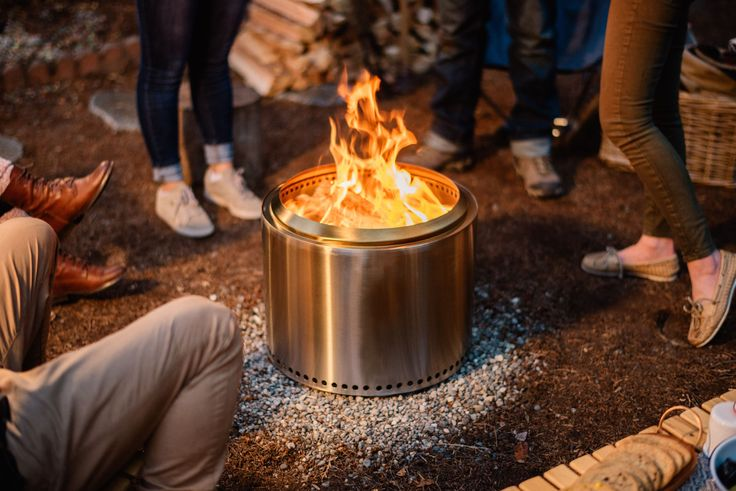 how to put out solo fire pit