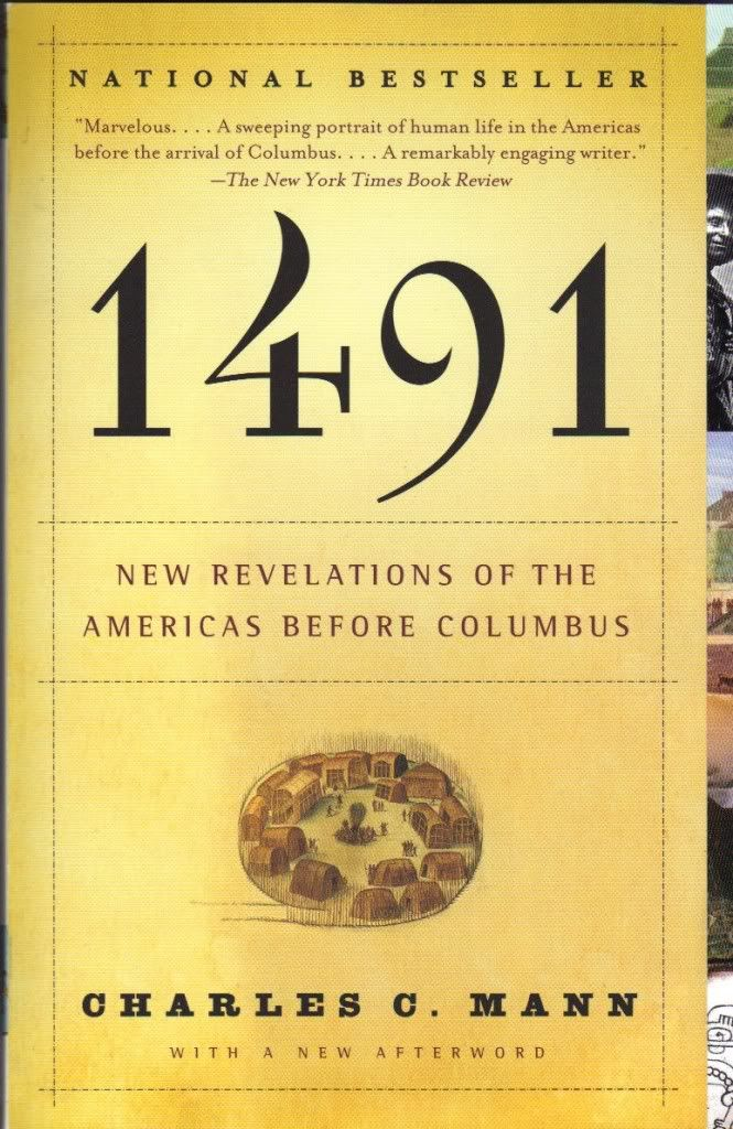 1491: Worth Reading, Columbus, American Indian, Revelations, Books Worth, Mann, Reading Lists, 1491 Second, Native American