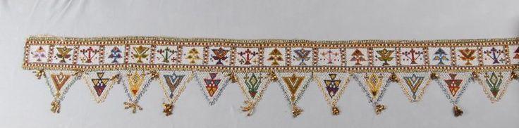 Beadwork hanging