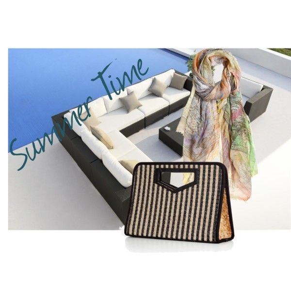 """""""summer time"""" by fabriziafuscoboutique on Polyvore"""
