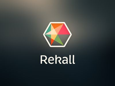 Rekall logo by Guillaume Marais What will you get in one color? The value differences between the parts will be so slight as to be visual mush.