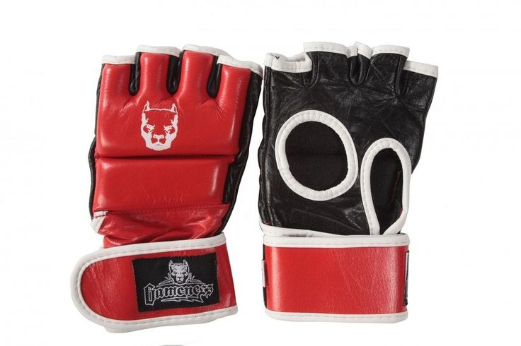 G4410 Gameness Red Line Thumb Lock MMA Gloves mixed martial arts train grapple #Gameness