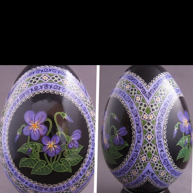 Pysanka Easter Egg by So Jeo. Pysanky