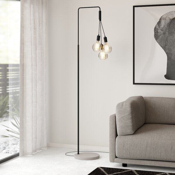 Citylights 190cm Arched Floor Lamp In
