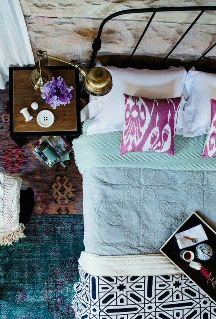 Escape Style: Using Beautiful Fabrics from Around the World at Home I am loving the idea of using a ton of vintage and culturally relevant fabrics!