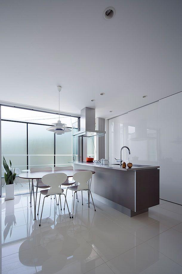 シンプルな家・間取り(京都市北区) |ローコスト・低価格住宅|狭小住宅・コンパクトハウス | 注文住宅なら建築設計事務所 フリーダムアーキテクツデザイン