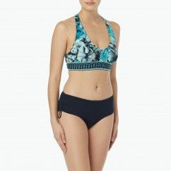 756553092bb32 Beach House Sport Focus Halter Bikini Top - Tropical Camo