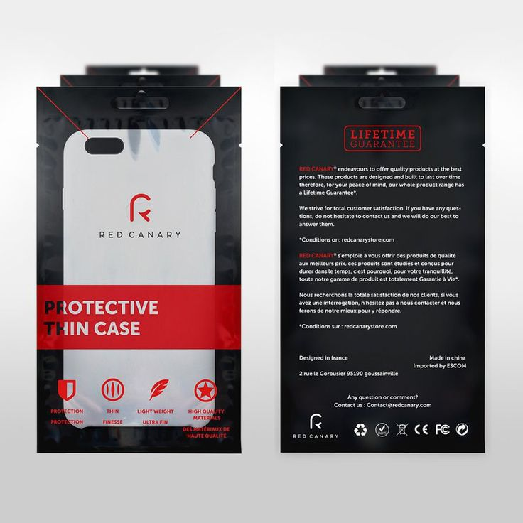 iPhone Case | Packaging by attilakamasz