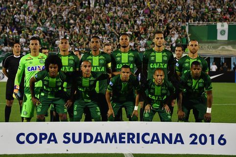 Brazil Chapecoense Soccer Team in Colombia Plane Crash