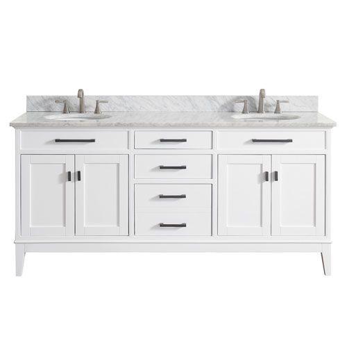Best 25 Double Sink Bathroom Ideas On Pinterest Double Sinks Double Sink Vanity And Double