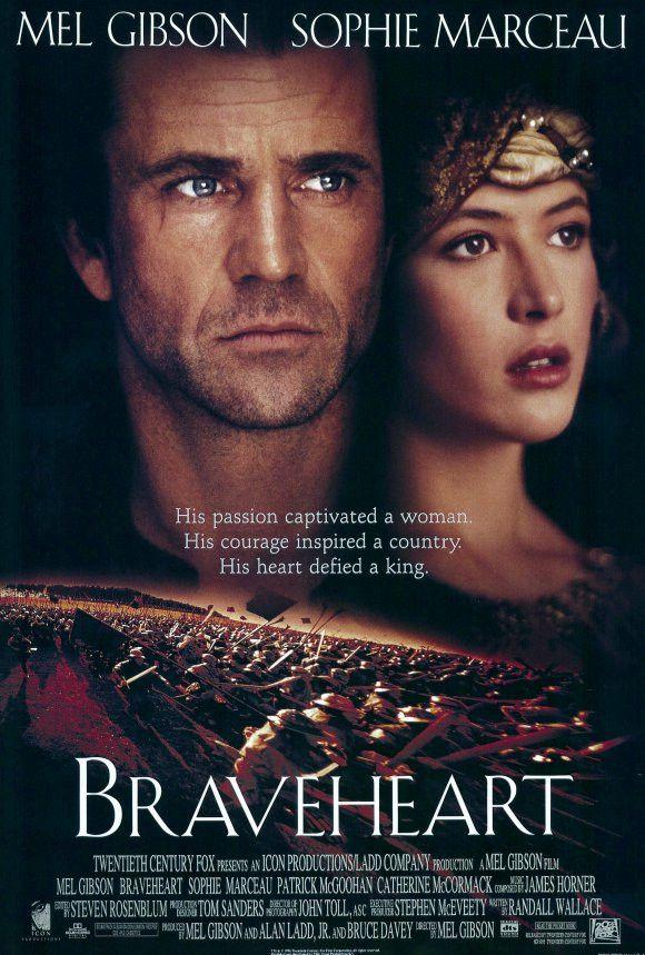 Braveheart 27x40 Movie Poster (1995)
