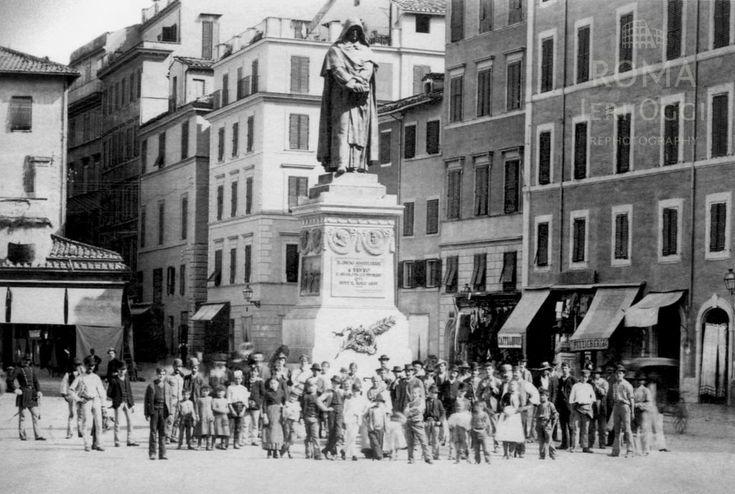 Campo de' Fiori (1895)   Roma Ieri Oggi