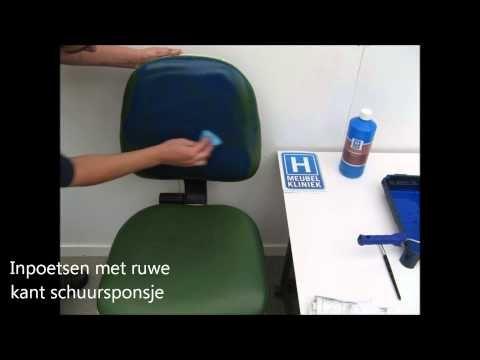 Leren Stoel Verven : Diy leren stoel verven met annie sloan chalk verf trendhunters nl