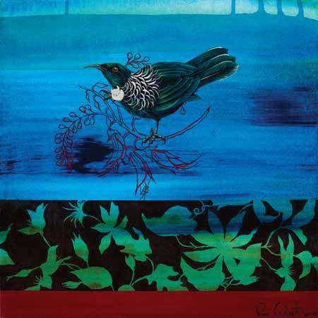 Tui 1 Canvas Print by Rae West