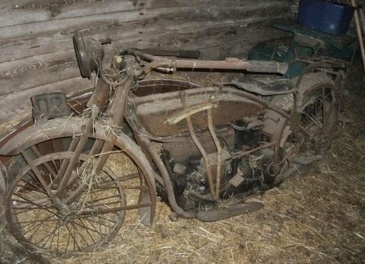 78 Images About Motorcycle Abandoned On Pinterest Old
