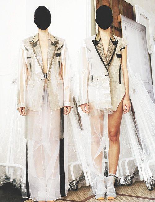[] At Maison Martin Margiela Atelier, by Estelle Hanania for Dazed & Confused, November 2011