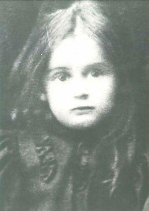 St. Edith Stein age 3, 1894 / www.baltimorecarmel.org