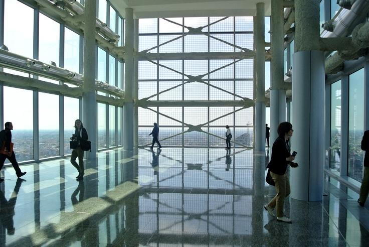 Itinerario:Mailand 4-5 Maggio 2012. Visita al Palazzo Lombardia progettato da Pei Cobb Freed & Partners (Foto di Barbara Palazzi). #Milano