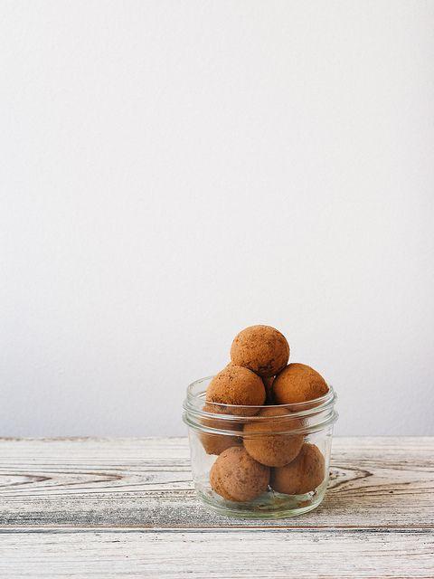 Raw cacao truffles by Ashlae | oh, ladycakes, via Flickr: Health Food, Chocolate, Truffles Recipes, Cacao Truffles, Drinks Recipes, Raw Food Recipes, Healthy Food, Creative2 Recipes, Raw Cacao