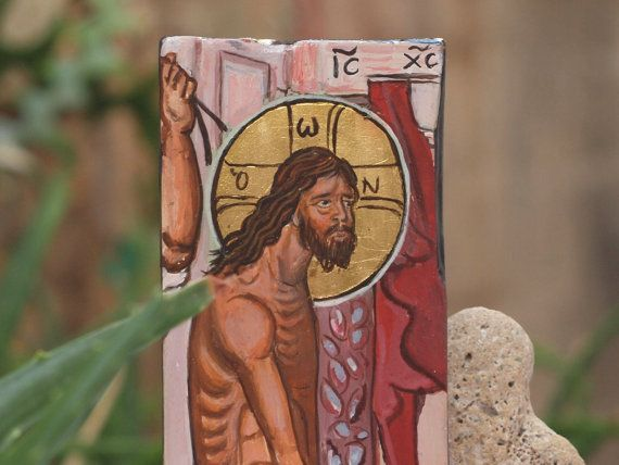 Driftwood art The Flagellation of Christ The by angelicon on Etsy