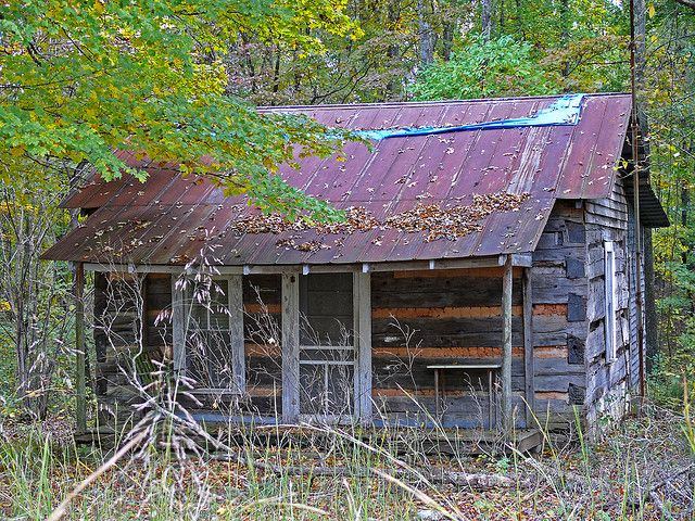 Old Cabin In The Woods | Old Log Cabin in the Woods | Flickr - Photo Sharing!