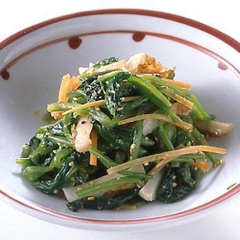 ほうれん草の韓国風あえもの by葛西麗子さんの料理レシピ - レタスクラブニュース