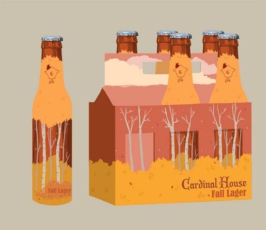 Packaging design for beer - concept