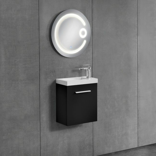 Toll [neu.haus] Badezimmerschrank Mit Waschbecken+Spiegel