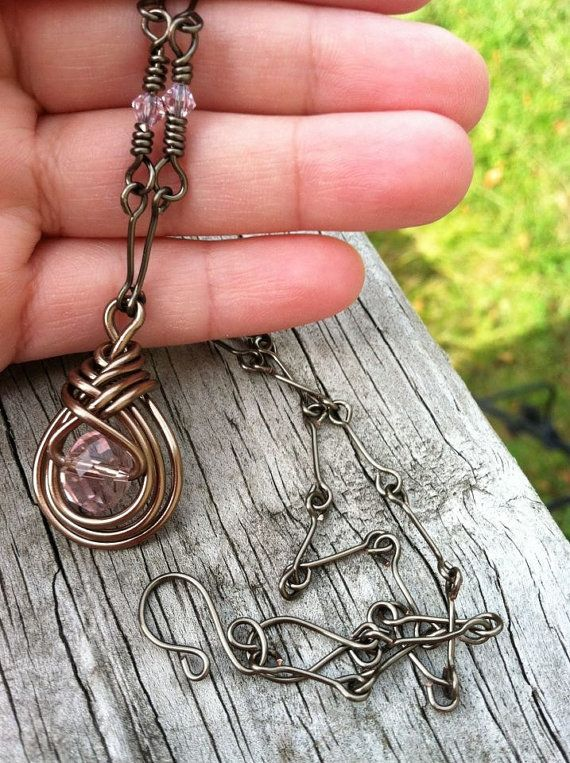 """Vampire Diaries Antique Pendant Necklace, As Seen On The Vampire Diaries"""" Worn by Actress Persia White, on Etsy, $61.00"""