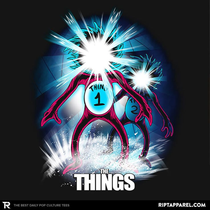 The Things T-Shirt - Dr.Seuss T-Shirt is $11 today at Ript!