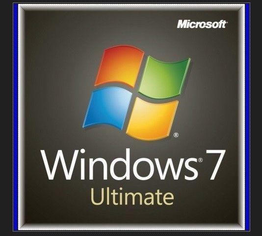 Win 7 Ultimate . 32/64 Bit Version ohne CD/DVD . Nur Key 1 PC *Blitzversand*