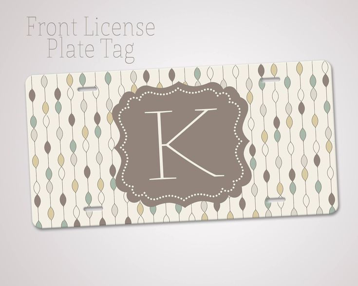 Excited to share the latest addition to my #etsy shop: Custom Name Plate - Personalized Plate - License Plate - Monogram Car Tag - Aluminum Plate - Front LIcense Plate http://etsy.me/2nf1AzB #everythingelse #customnameplate #personalizedplate #licenseplate