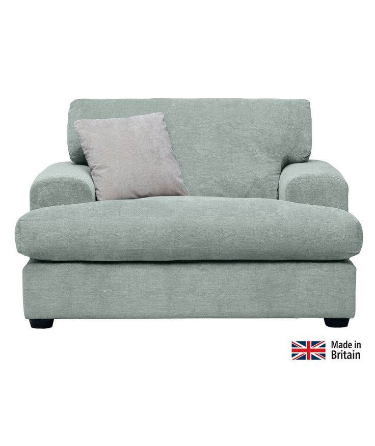Buy Lettie Snuggle Chair Sky Blue at Argoscouk Your