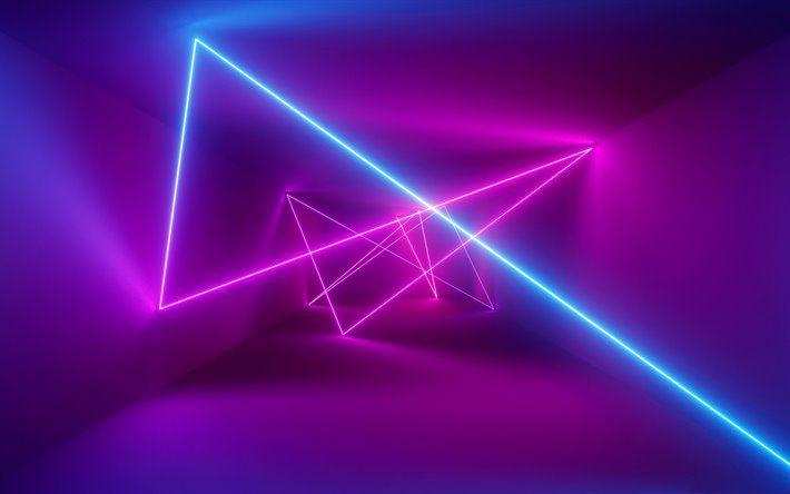 Download Imagens Luz De Neon De Fundo Neon Lasers Roxo Brilhante De Fundo Neon Fundos Besthqwallpapers Com Neon Wallpaper Neon Light Wallpaper Lit Wallpaper 4k wallpaper for laptop neon